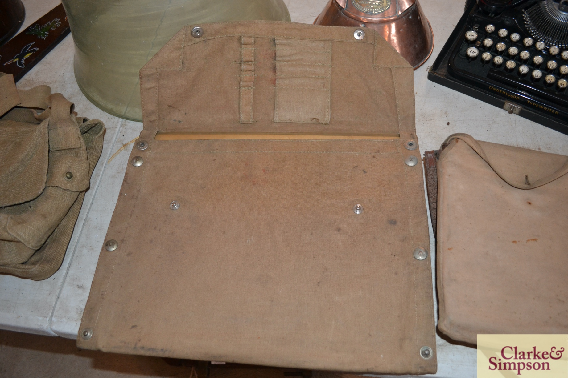 Two canvas orienteering map cases - Image 2 of 7