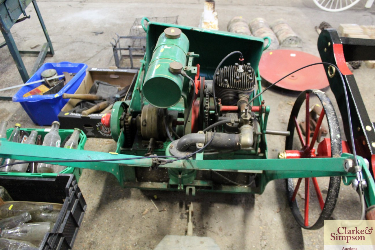 A Ransomes cylinder ride-on mower - Image 8 of 12