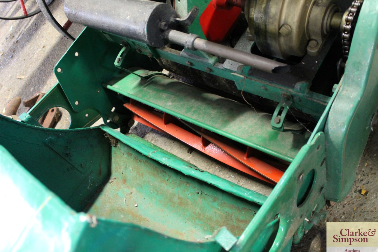 A Ransomes cylinder ride-on mower - Image 12 of 12