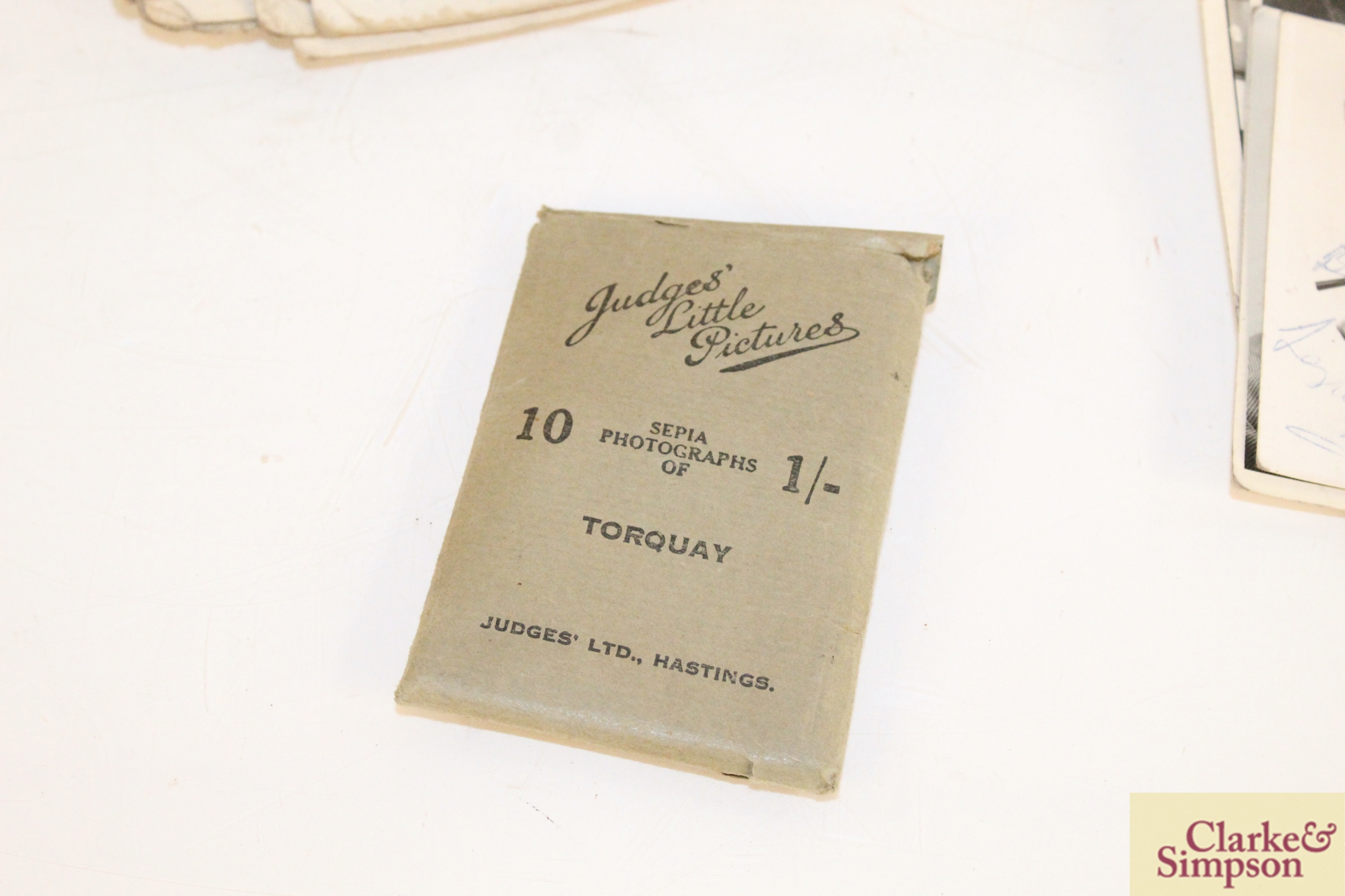 A vintage motorist's First Aid kit; various albums o - Image 8 of 9