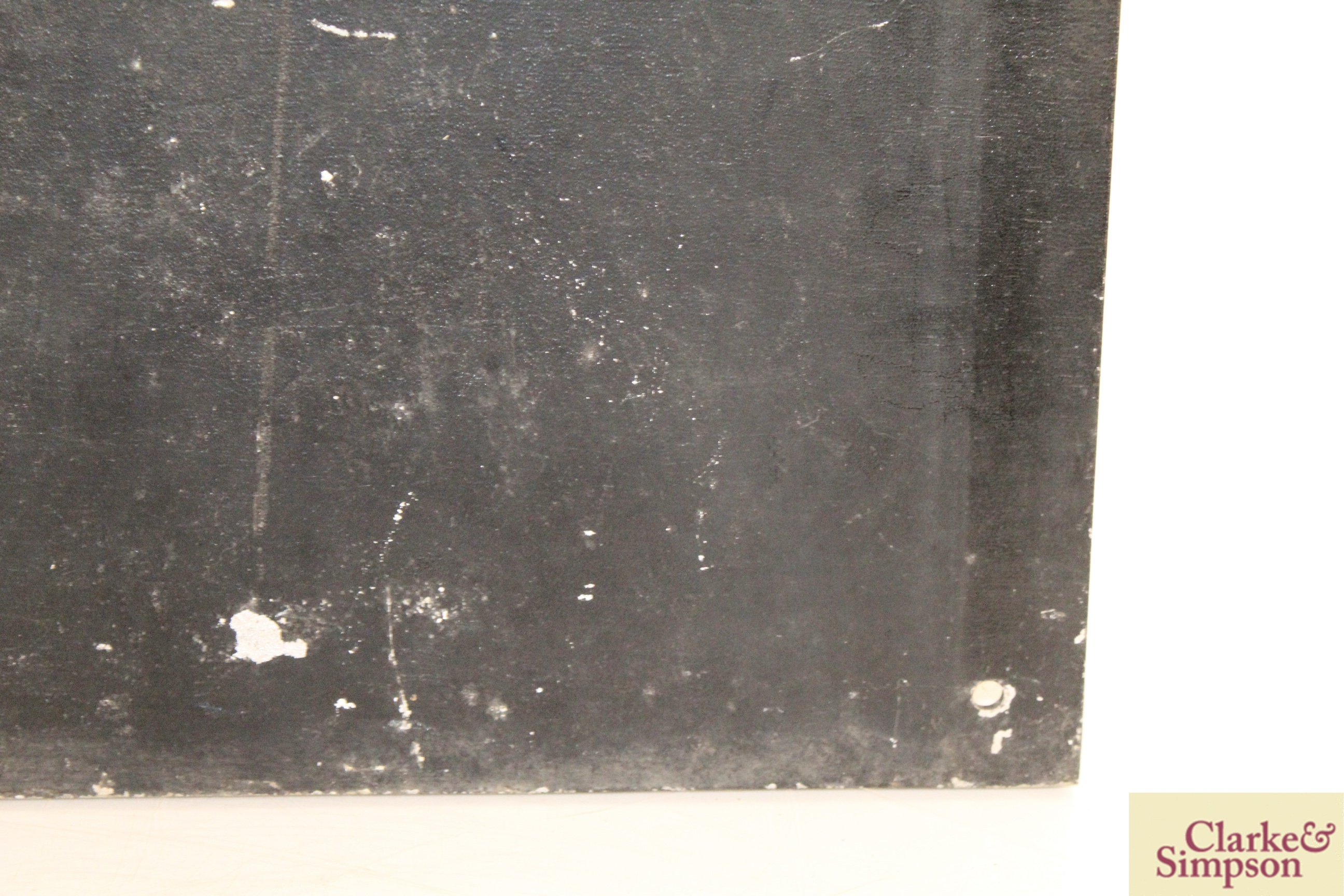 """A cast iron """"Golf Club"""" sign, approx. 15½"""" x 17"""" i - Image 9 of 10"""