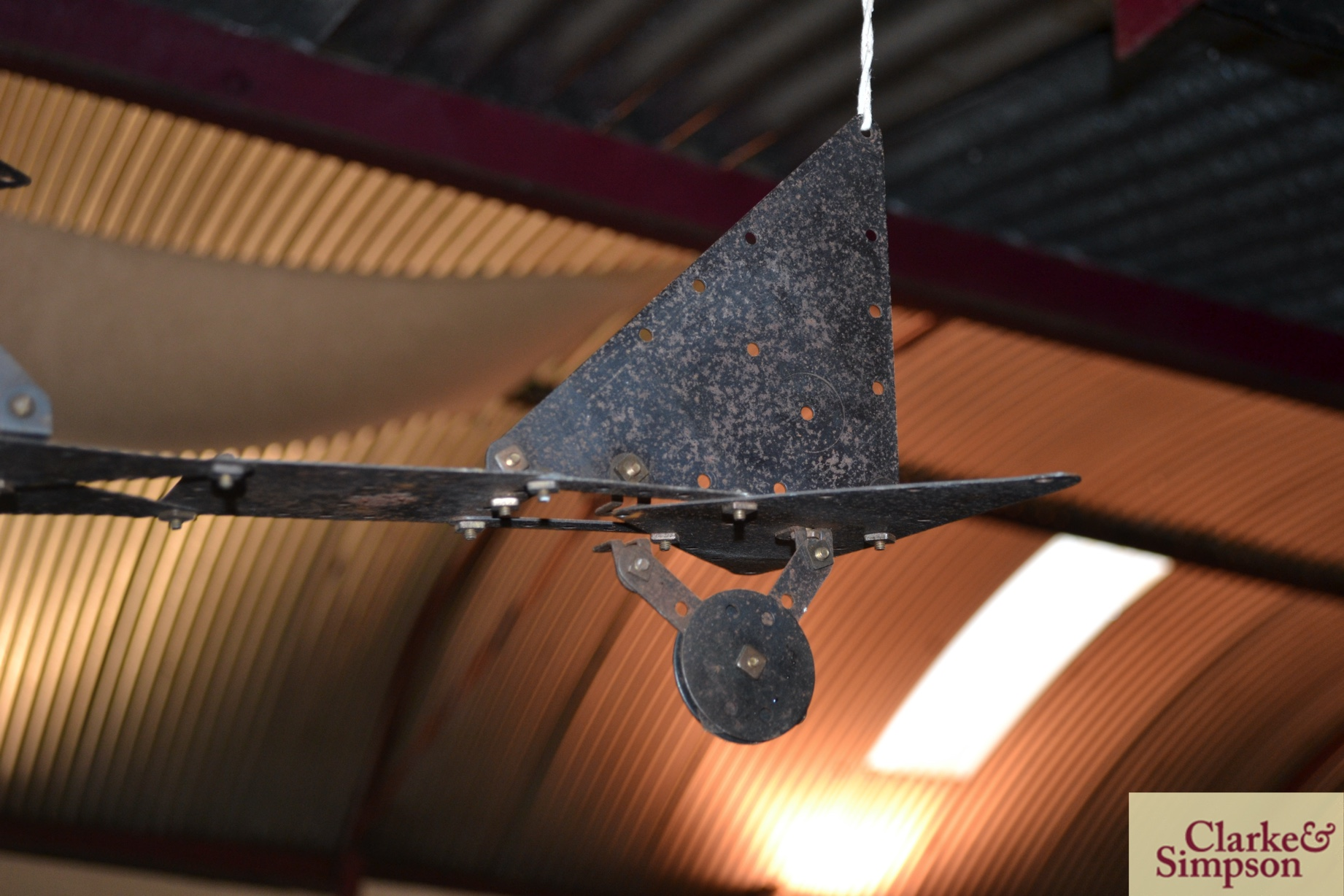 An early 20th Century kit form Meccano model of a - Image 4 of 5
