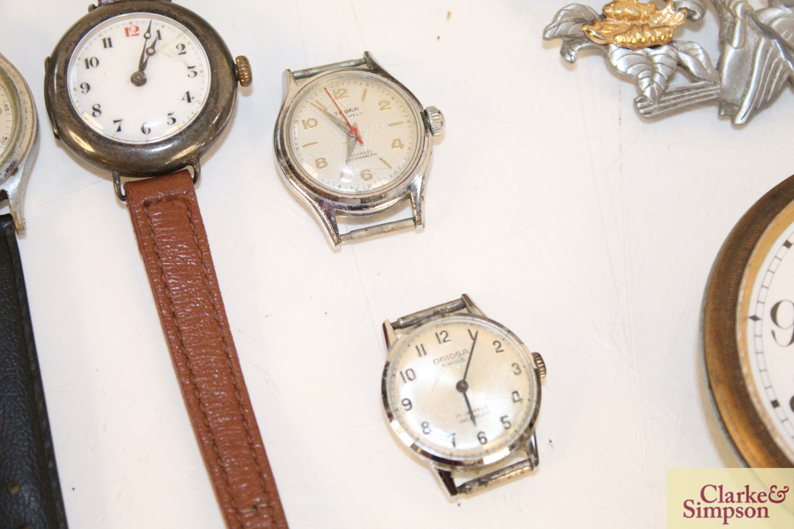 Four various vintage ladies wrist watches, an eight day - Image 4 of 6