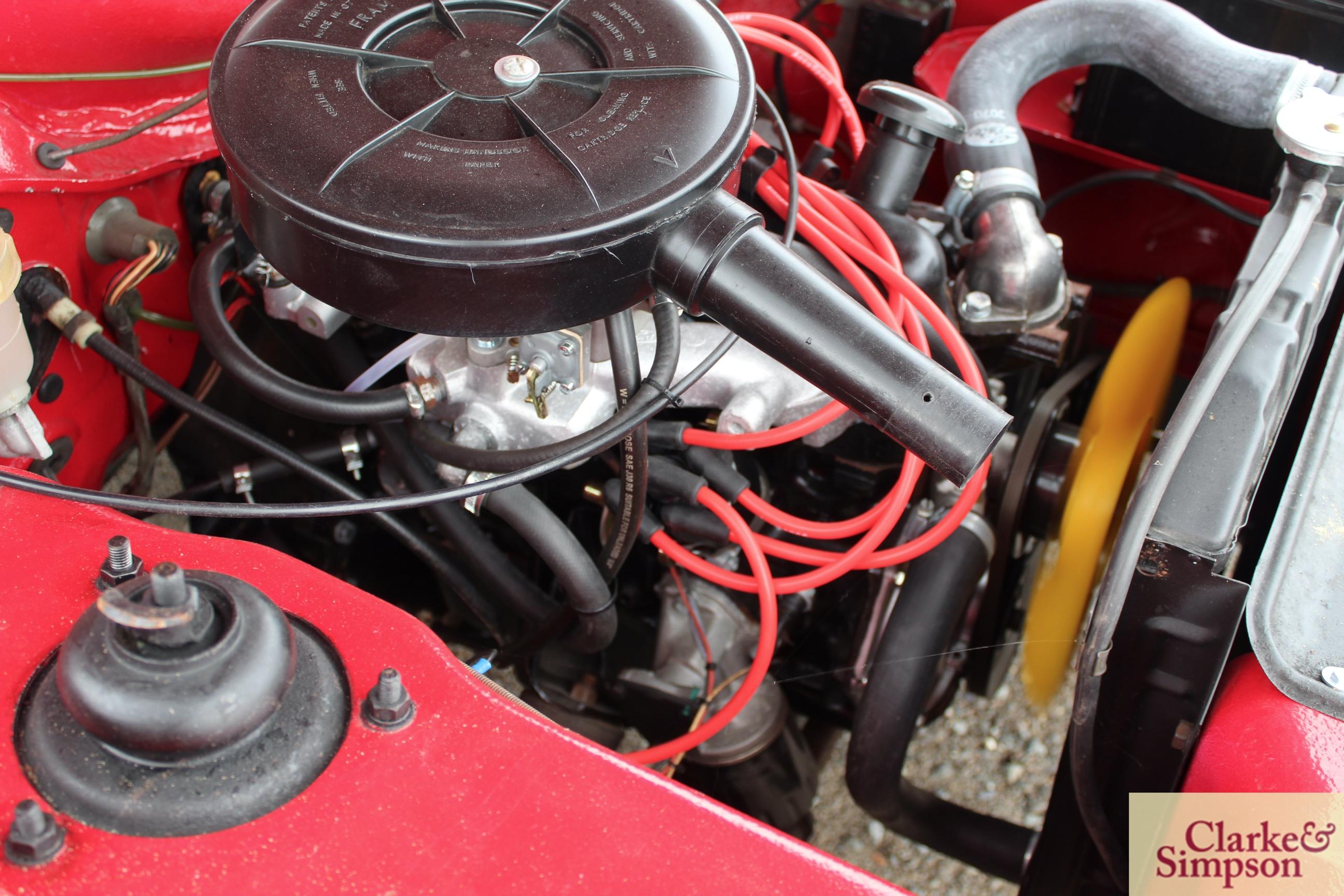 Ford Capri MK1 1300. Registration XBJ 188G. Date o - Image 39 of 65