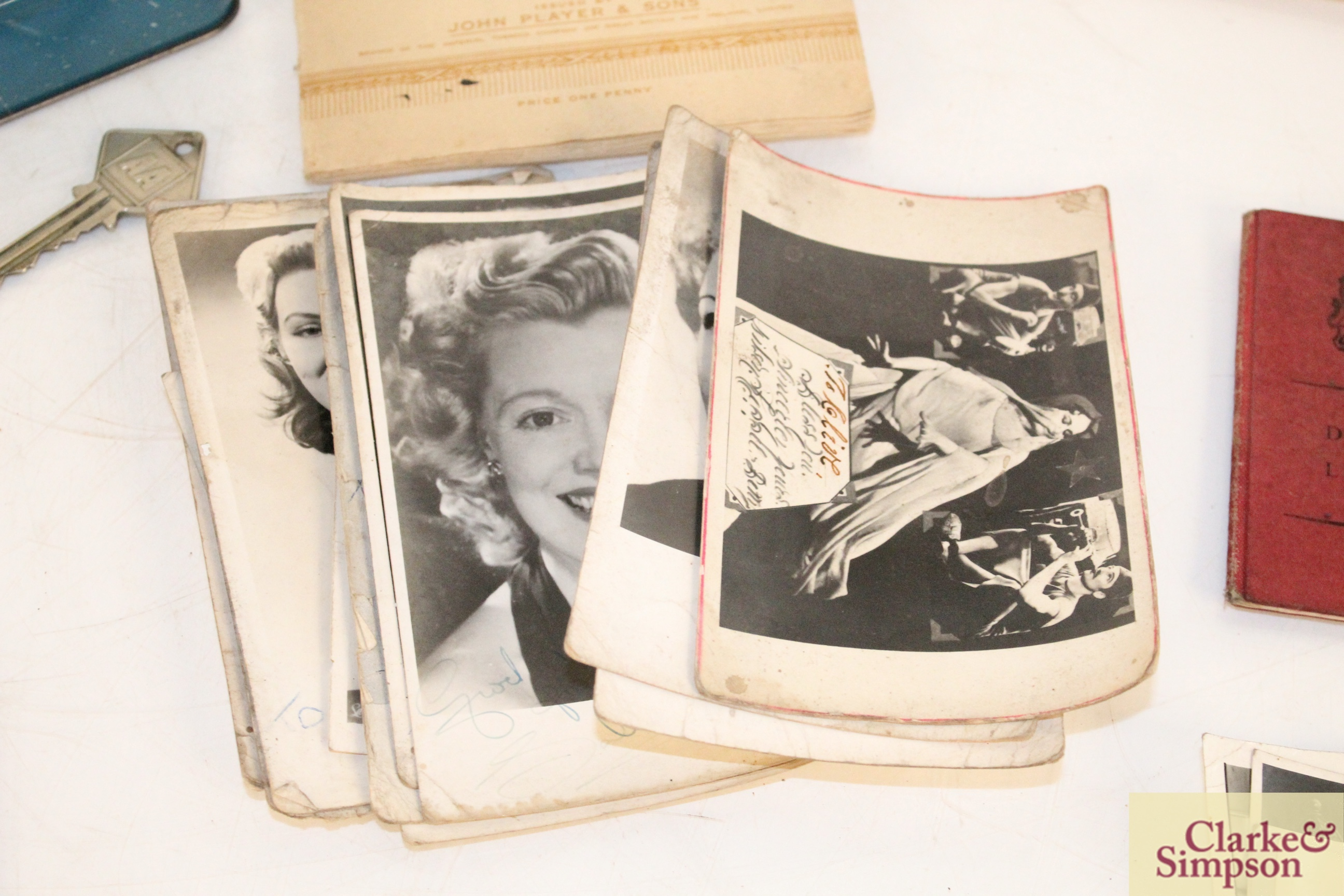 A vintage motorist's First Aid kit; various albums o - Image 6 of 9