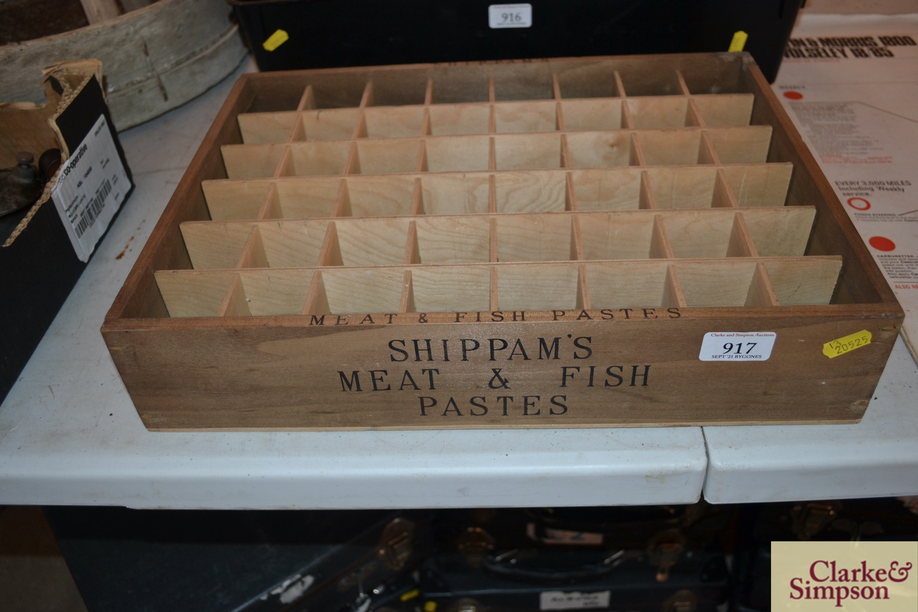 """A """"Shippam's Meat and Fish Pastes"""" retailers displ - Image 2 of 2"""