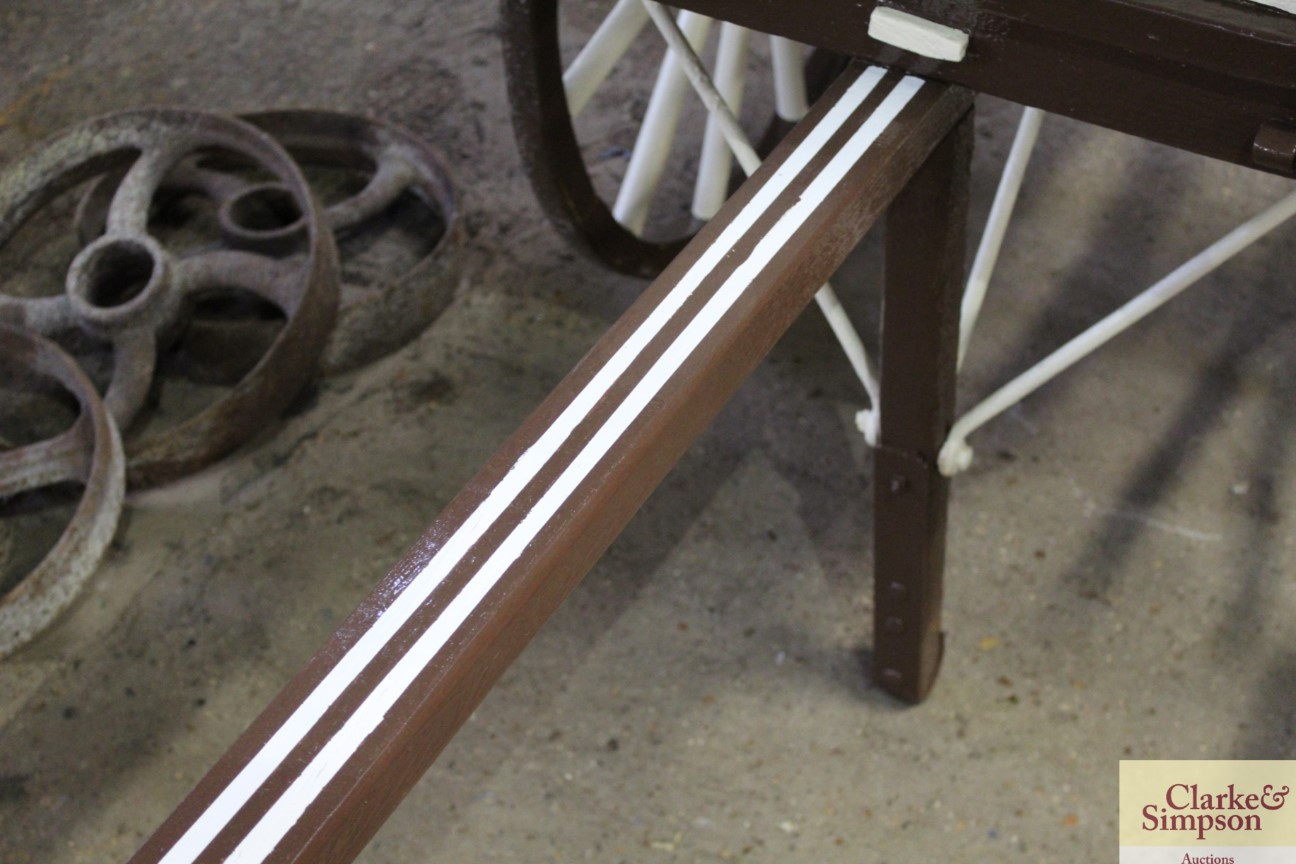 A builders hand cart - Image 6 of 12
