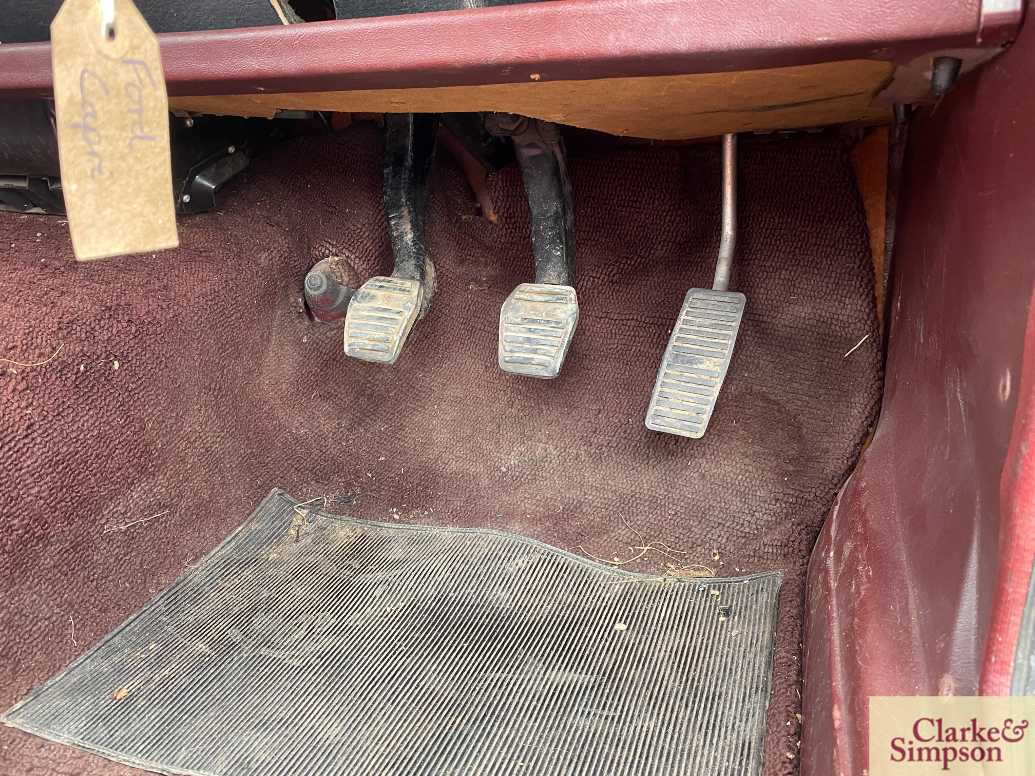 Ford Capri MK1 1300. Registration XBJ 188G. Date o - Image 51 of 65