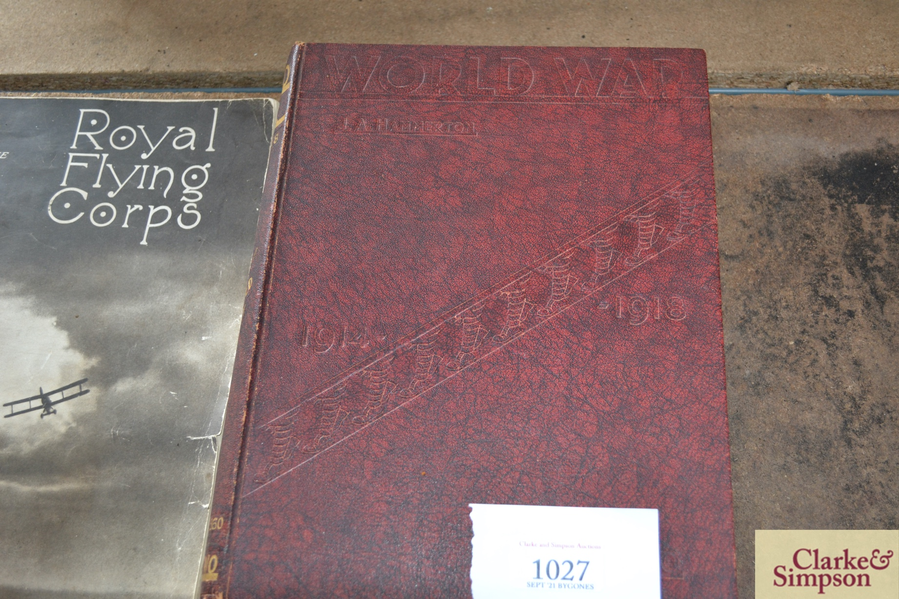 Two volumes of World War 1914-1918, The Royal Flyi - Image 2 of 5