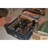 A quantity of various vintage drills including a m