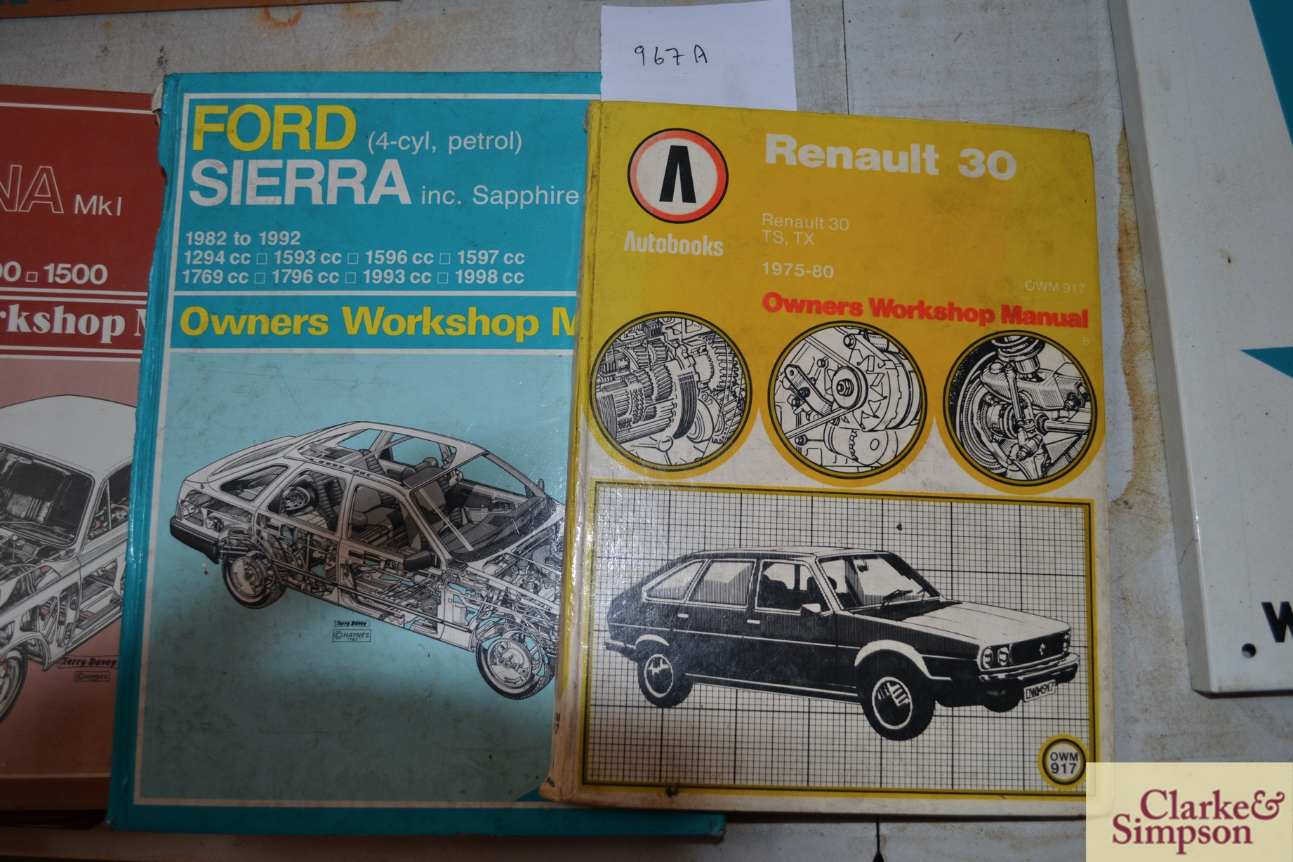 Service Literature for Ford Consol Corsair range, - Image 2 of 3