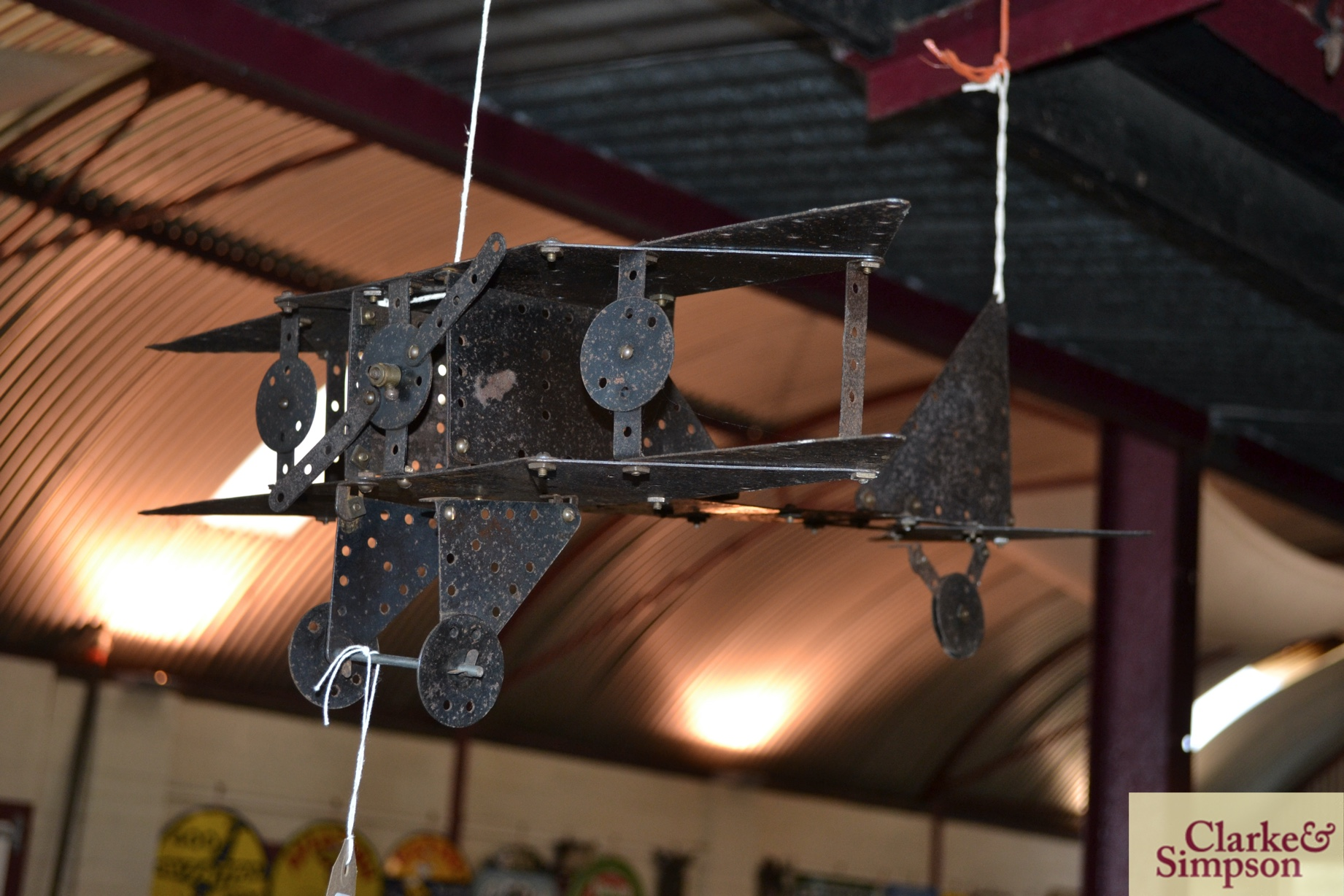 An early 20th Century kit form Meccano model of a - Image 3 of 5