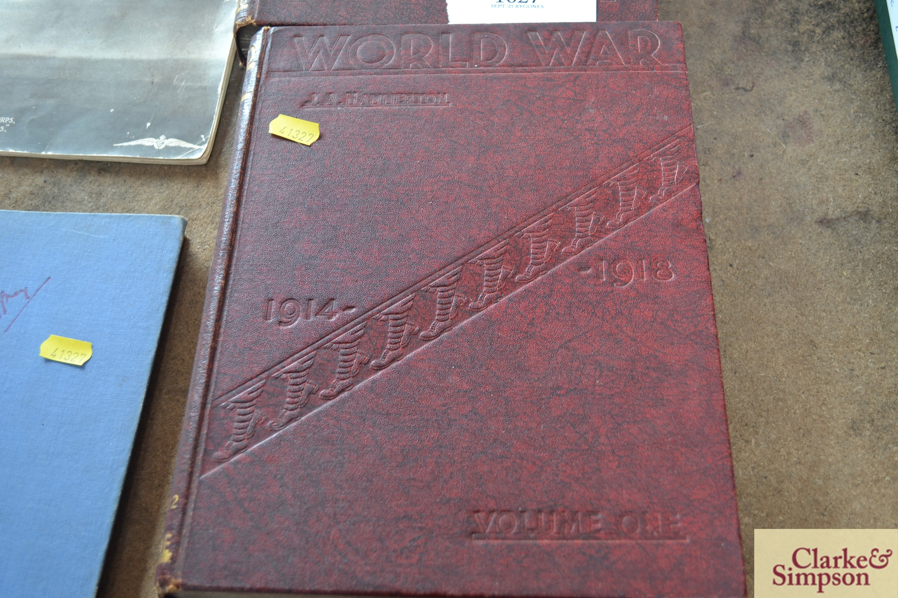 Two volumes of World War 1914-1918, The Royal Flyi - Image 3 of 5