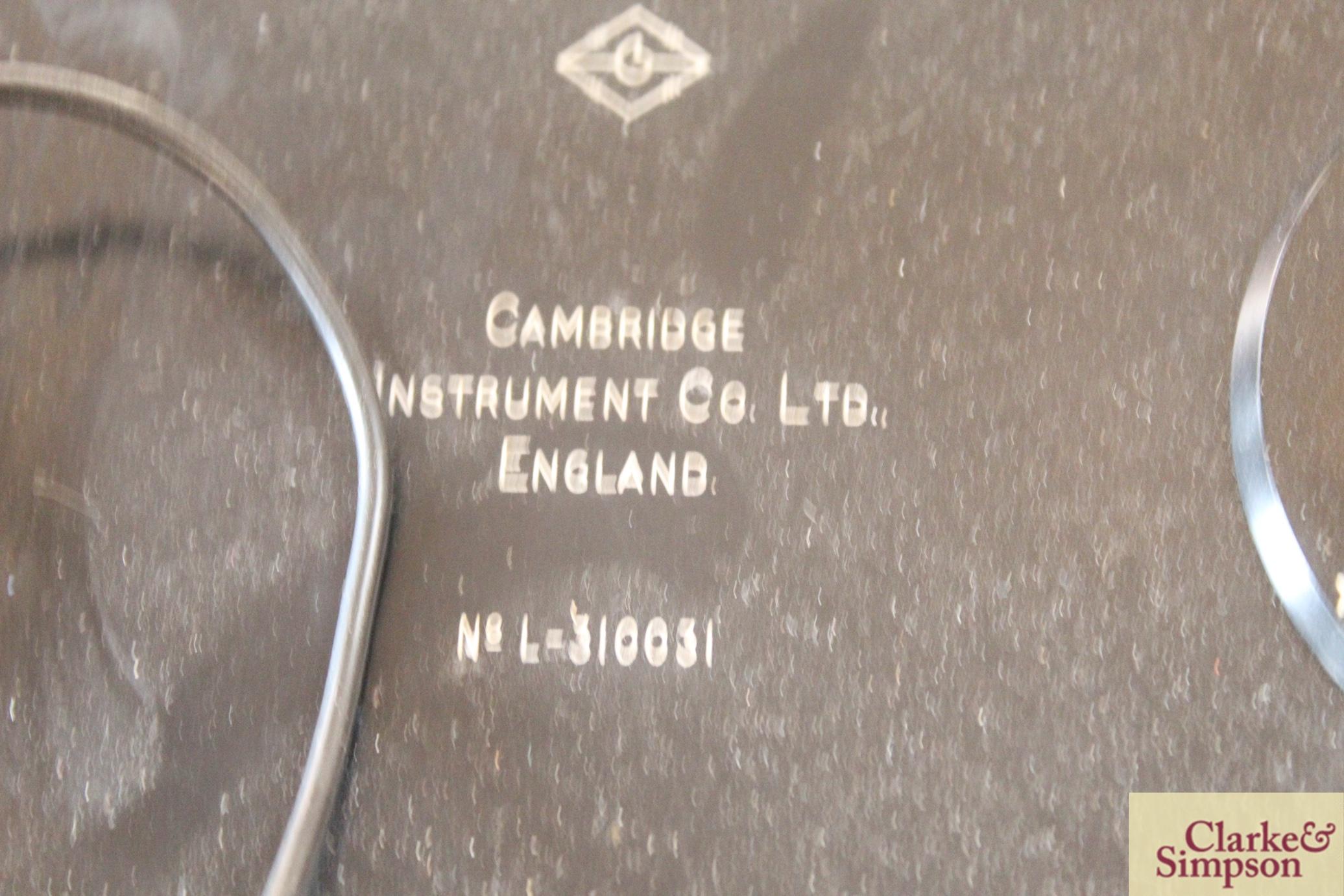 A Cambridge Decade Bridge No.L-310031 electrical tester - Image 6 of 6
