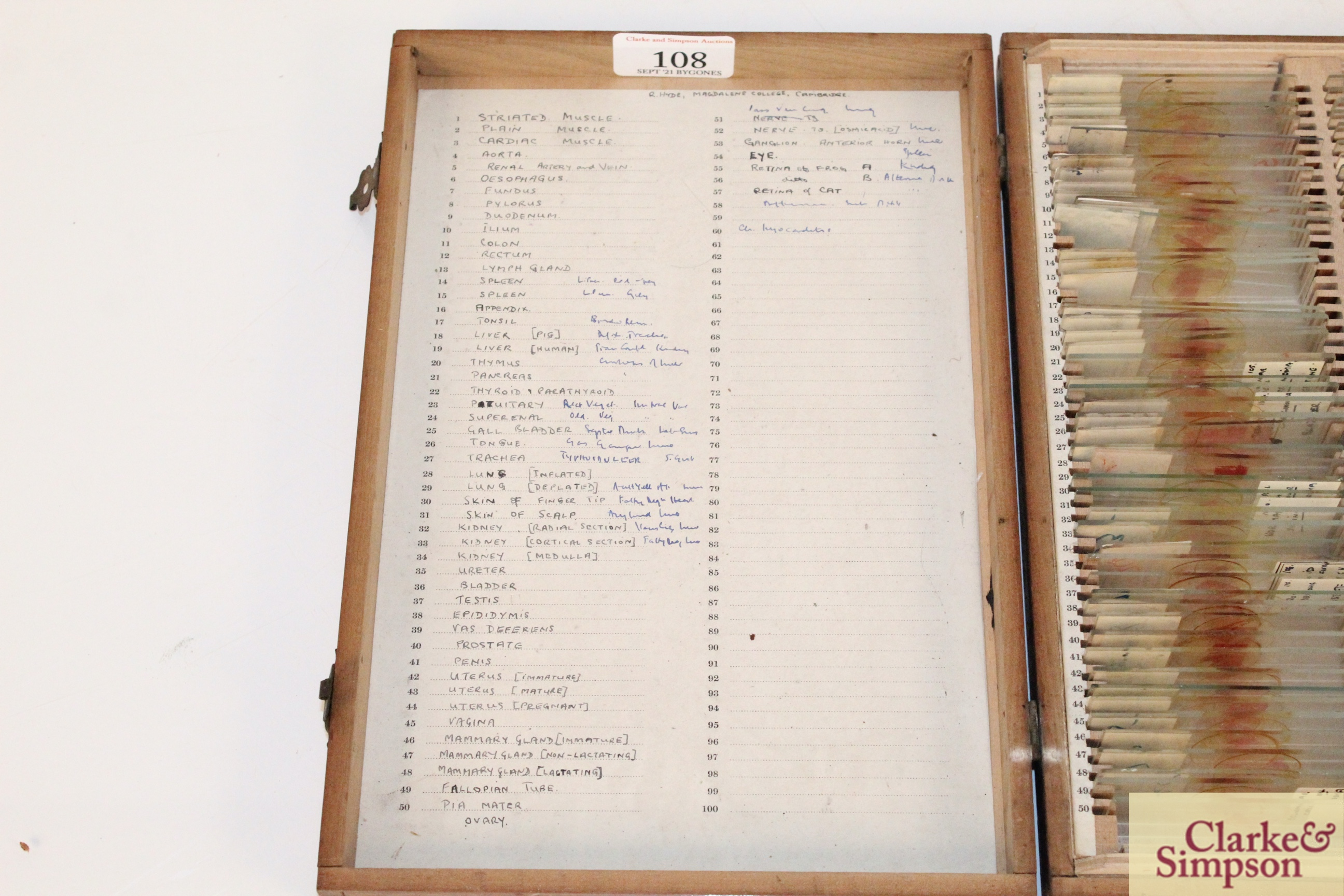 Three boxes of medical slides - Image 3 of 14