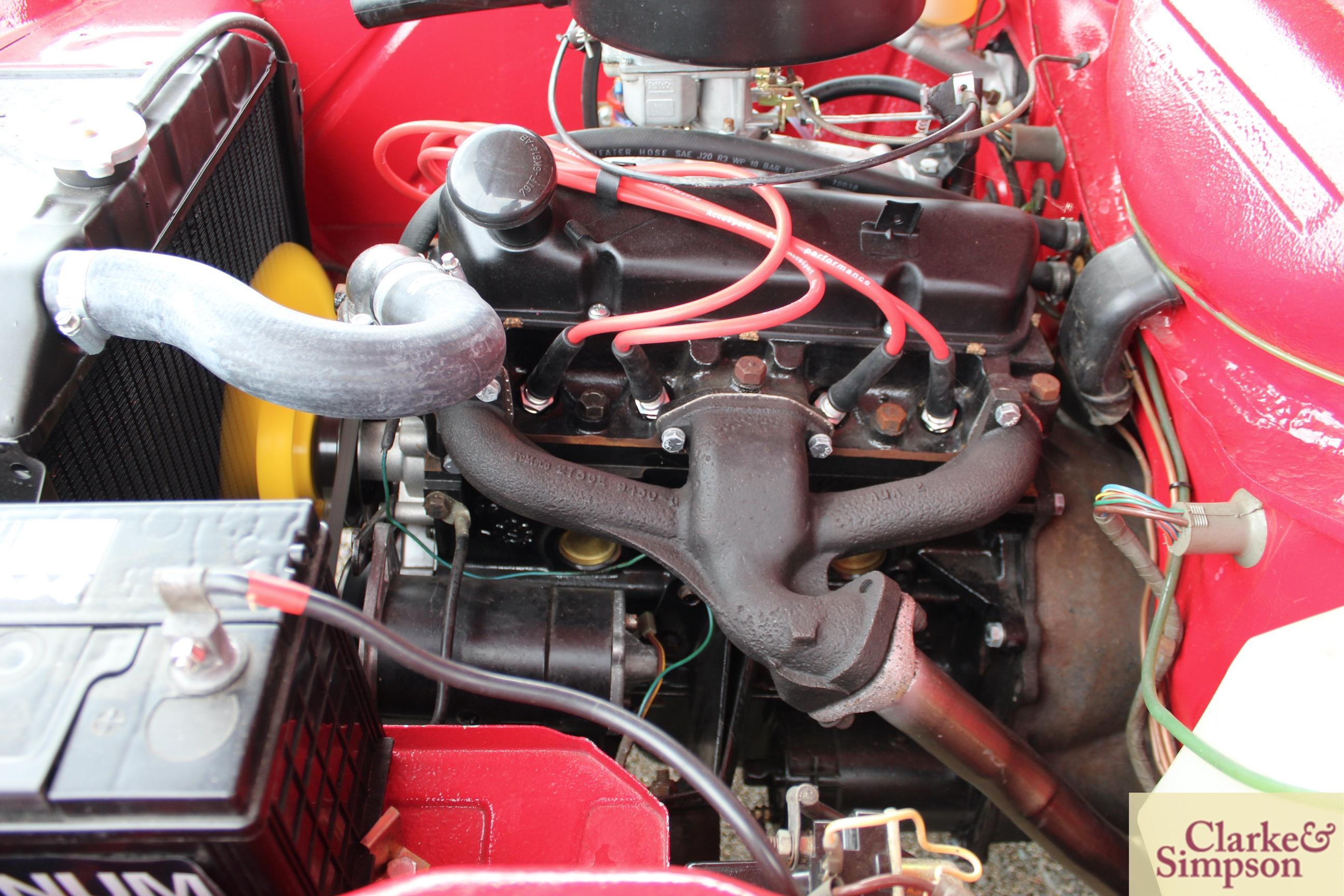 Ford Capri MK1 1300. Registration XBJ 188G. Date o - Image 40 of 65