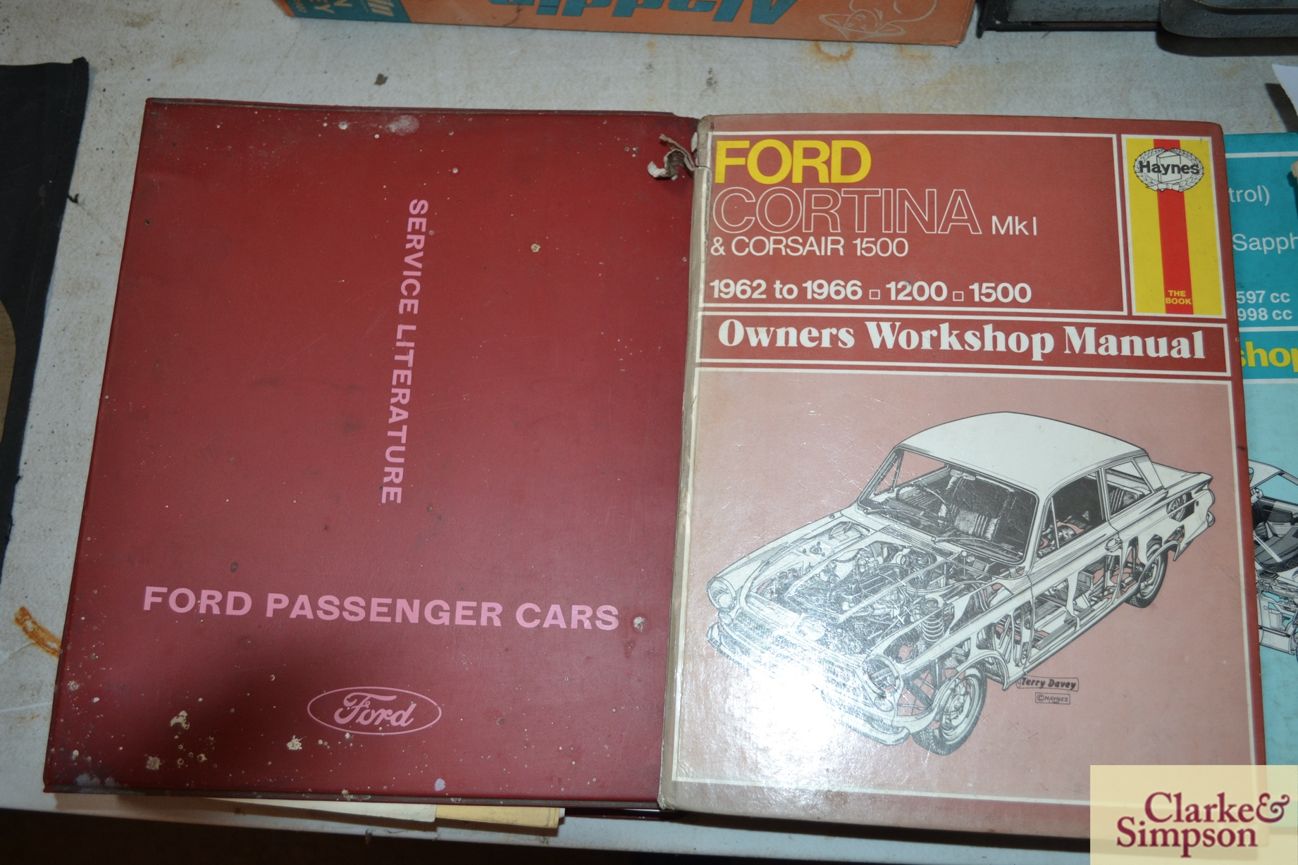 Service Literature for Ford Consol Corsair range, - Image 3 of 3