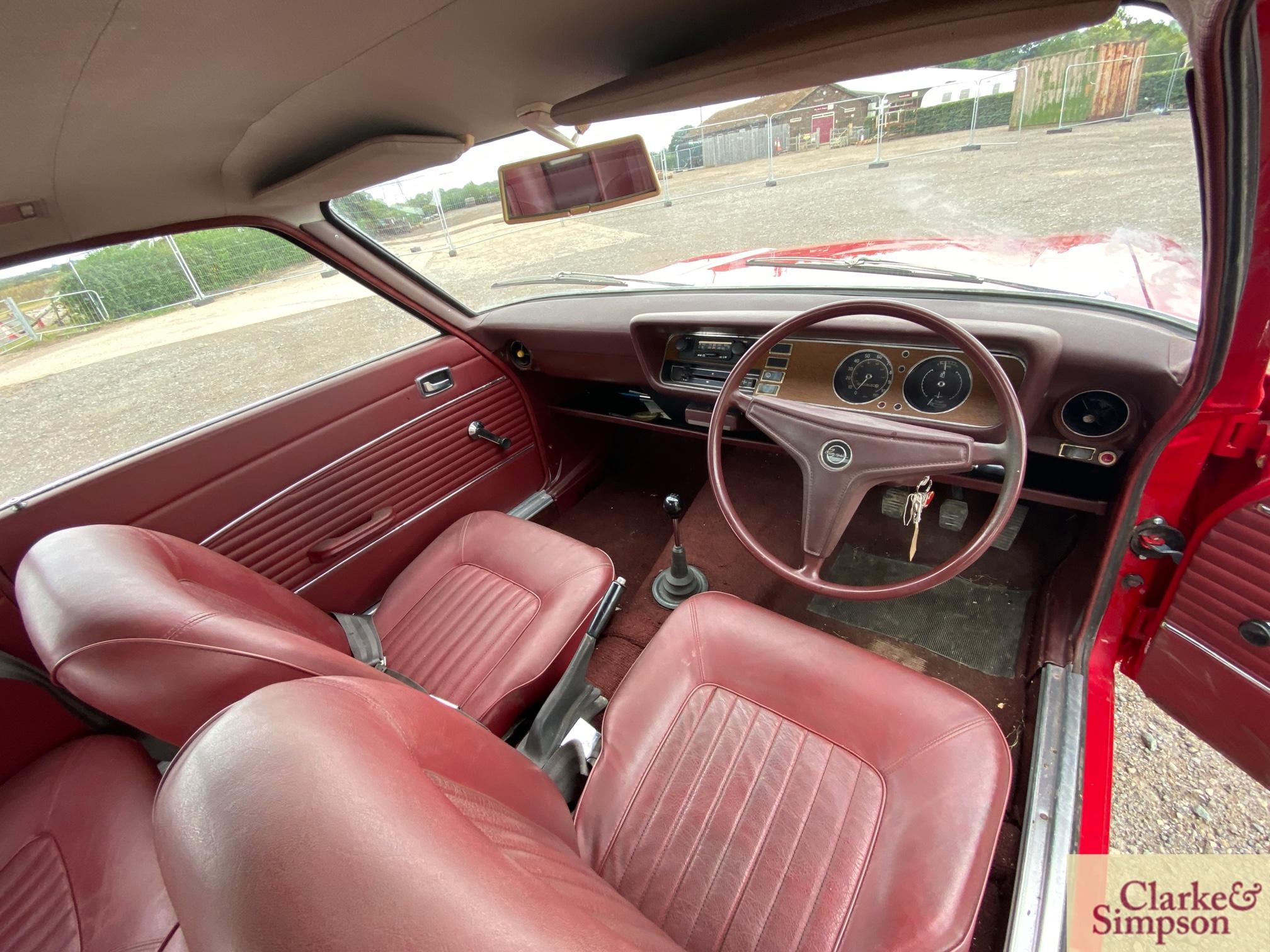 Ford Capri MK1 1300. Registration XBJ 188G. Date o - Image 49 of 65