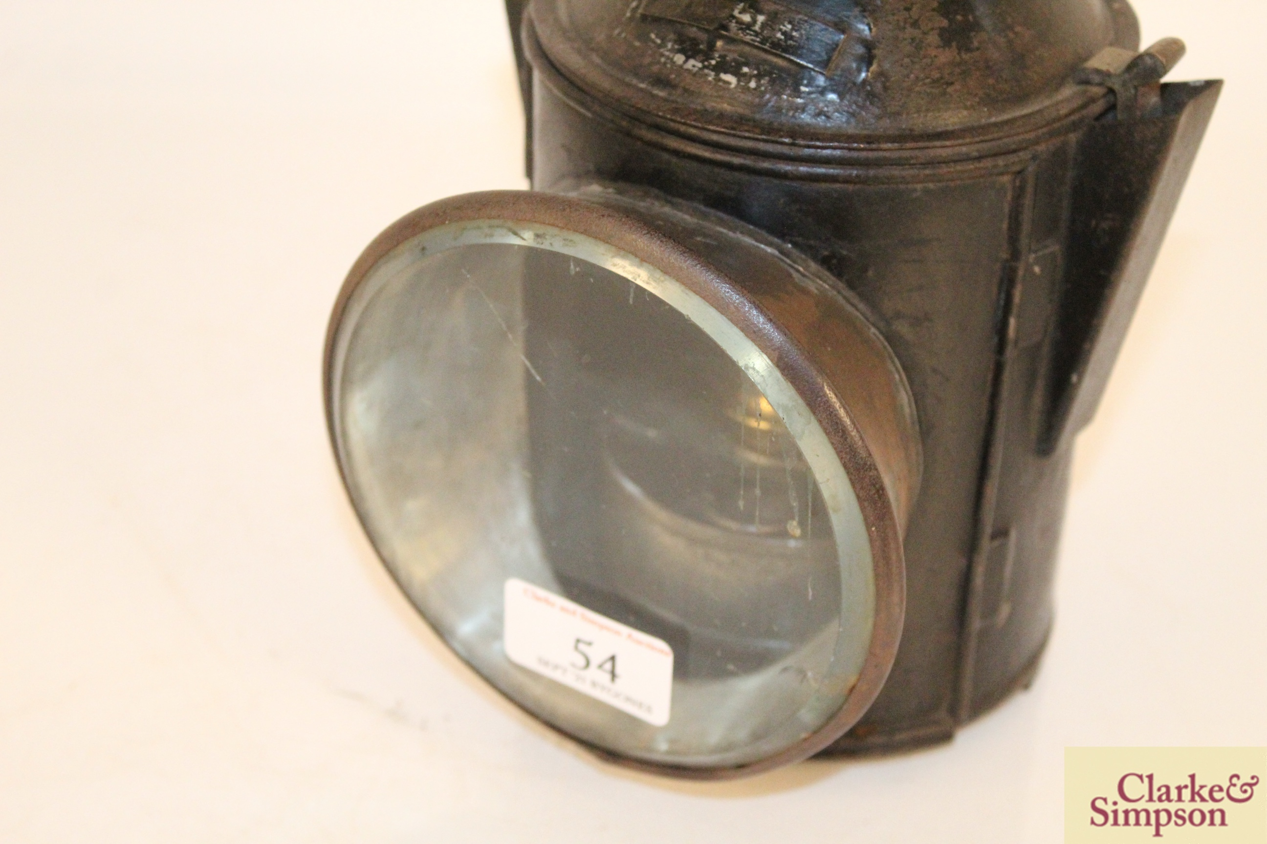 A railway lamp - Image 3 of 6