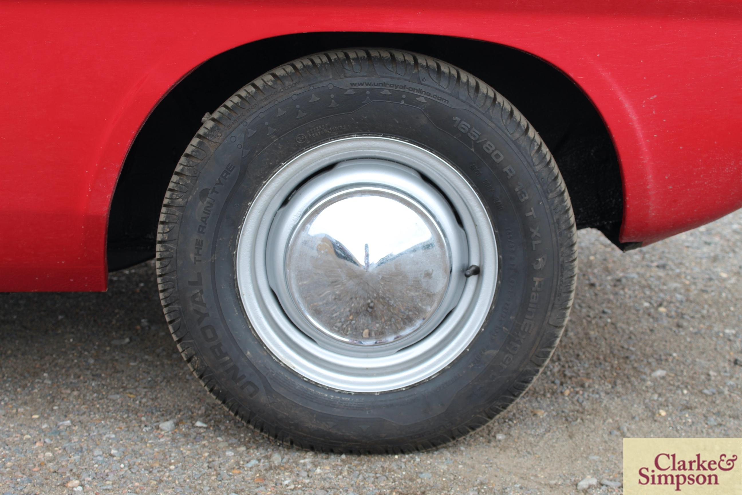 Ford Capri MK1 1300. Registration XBJ 188G. Date o - Image 13 of 65