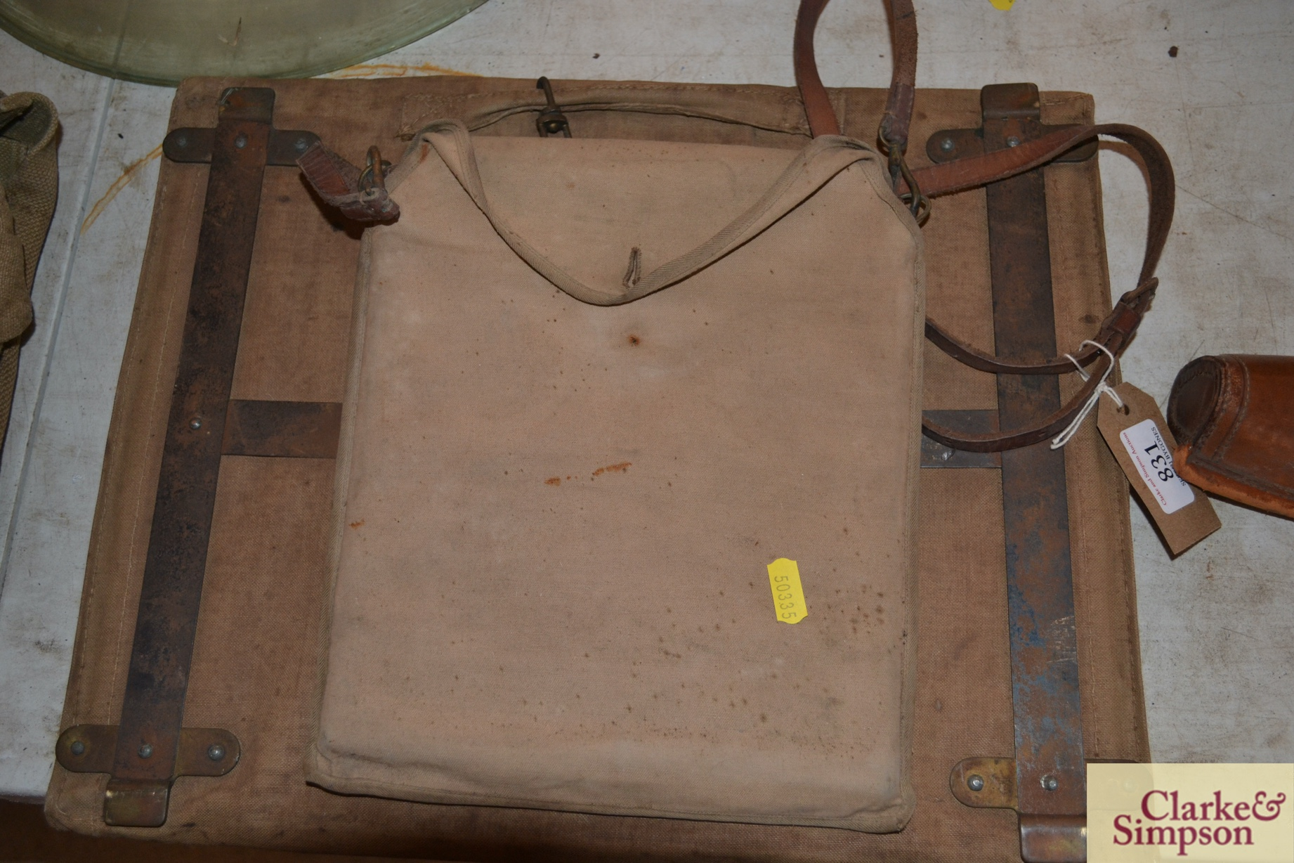 Two canvas orienteering map cases - Image 5 of 7