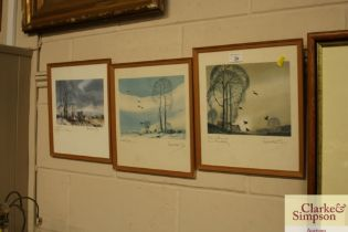 Three Brandon-Cox, rural prints