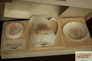 A boxed Royal Doulton 'Cacharel' collection