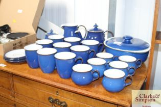 A quantity of Denby tea; coffee and dinnerware