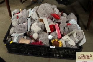 """A box containing """"Me to You"""" teddy bears"""