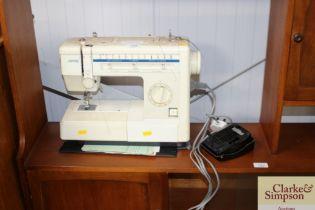 A Jones electric sewing machine