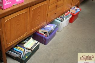 Four boxes of various books to include historical