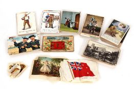 A collection of over 100 post-cards,comprising comic, novelty, First World War, sweetheart cards