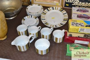 """A quantity of Staffordshire """"Midwinter"""" pattern te"""