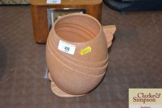 An Art Deco design vase