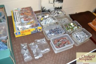 A quantity of War Game figures and models