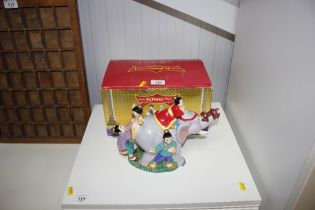 """A Warner Bros. studio, """"The King and I"""", teapot wi"""