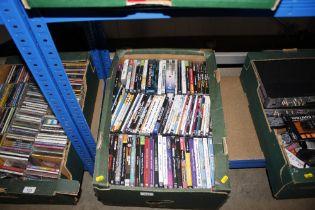 A box of various computer games