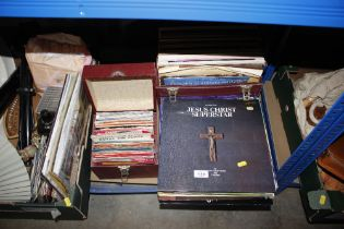 A quantity of LP's and 45rpm records