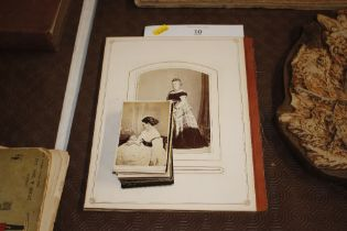 A collection of late Victorian portrait photograph