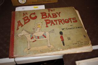 Mrs Ernest Ames - an ABC for Baby Patriots publish