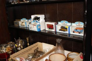 A quantity of boxed diecast vehicles