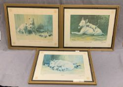 Clifford Ambler three framed Ltd Edition Prints each 37 x 47cm - 'Caesar's wife - a matter of