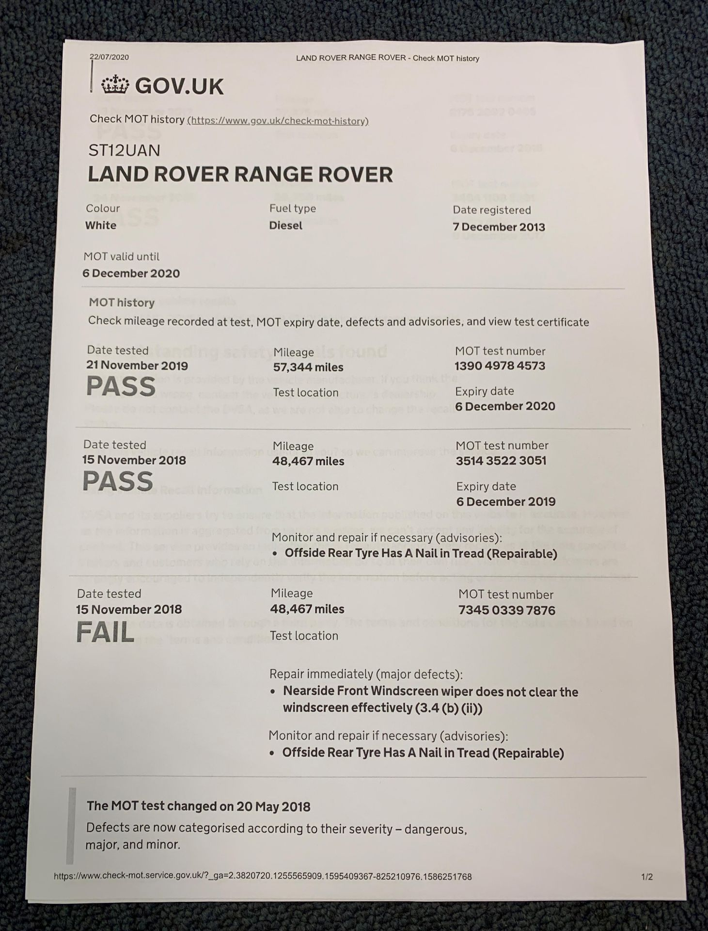 ON INSTRUCTIONS RE: A DECEASED ESTATE - LANDROVER RANGE ROVER EVOQUE PURE T 2. - Image 11 of 22