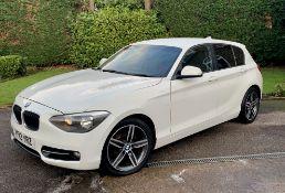 BMW 116D SPORT 2.0 (1995cc) 5 door hatchback - diesel - white Reg. No: YF12 YRZ Rec.