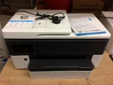 A HP Office Jet Pro 7720 wide format all in one series