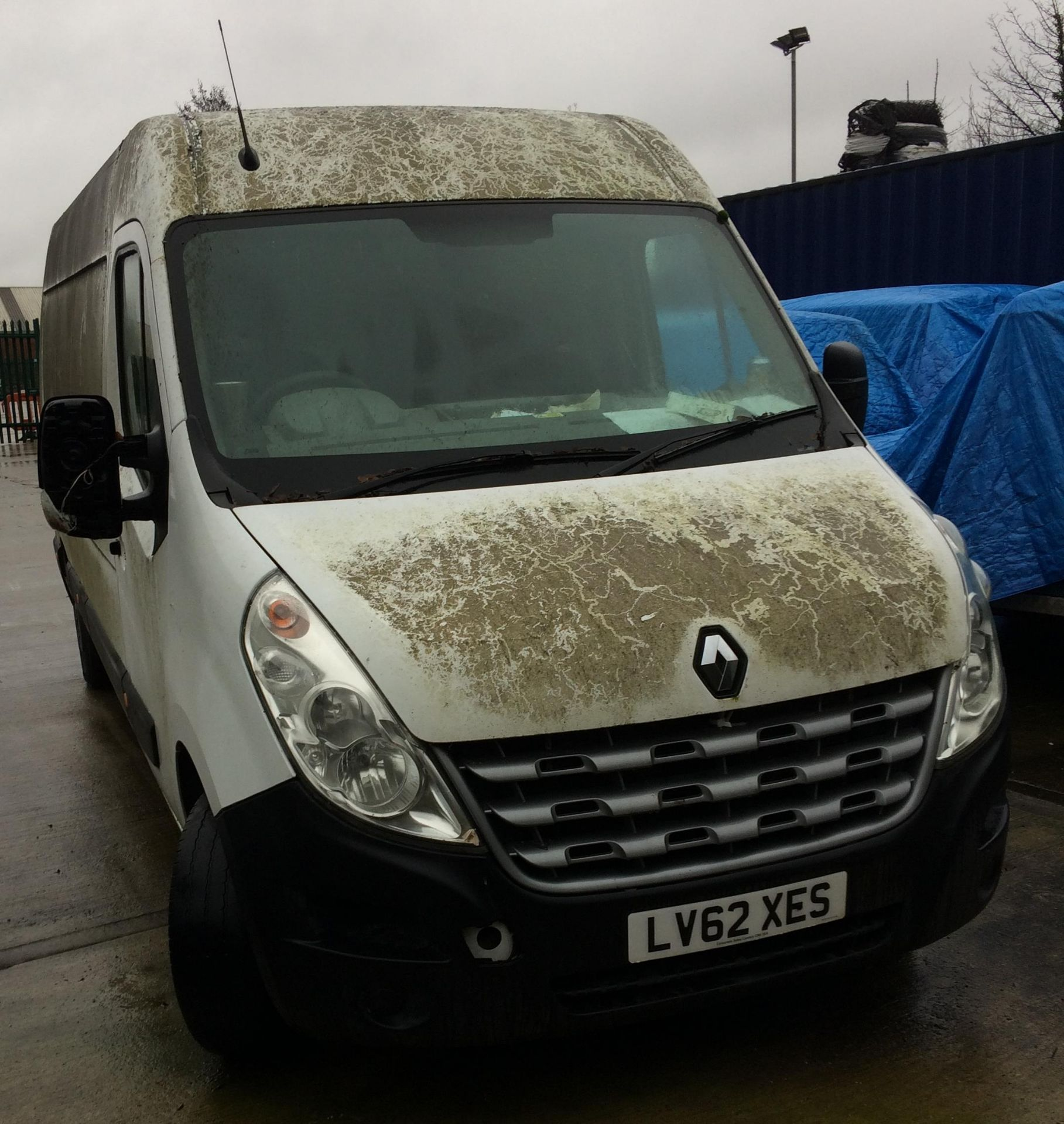ON INSTRUCTIONS OF HIGH COURT ENFORCEMENT - RENAULT MASTER LM35 DCi 125 2.