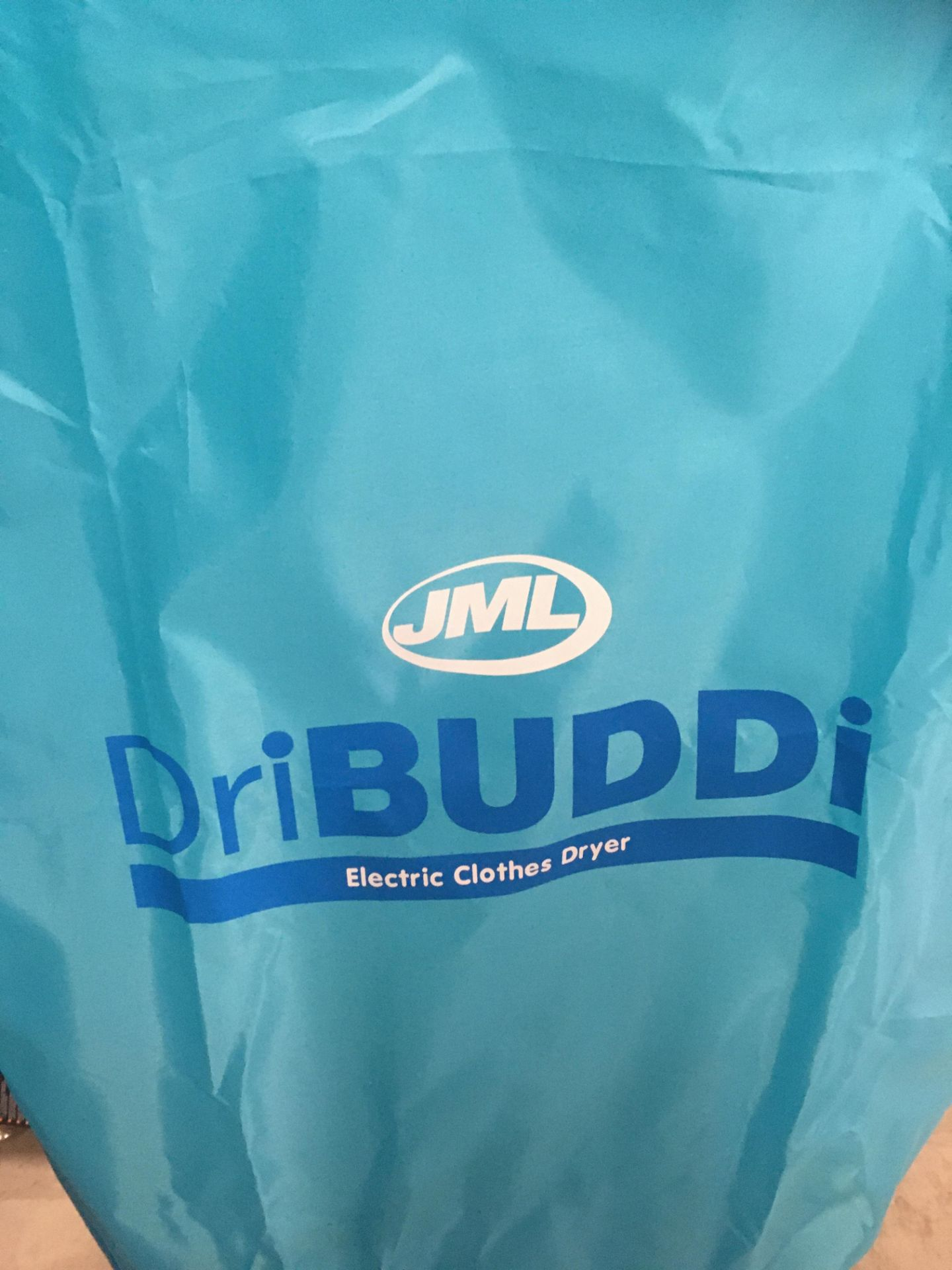 A DRI BUDDI electric freestanding clothes drier complete with cover - Image 2 of 2