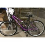 "A CHALLENGER SILVER CANYON 18 speed 18½"" ladies bicycle - purple - unused"