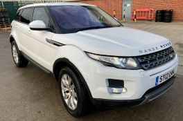 ON INSTRUCTIONS RE: A DECEASED ESTATE - LANDROVER RANGE ROVER EVOQUE PURE T 2.