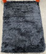 Sienna Home Collection rug, charcoal,